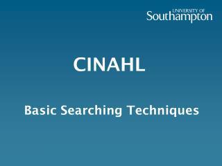 CINAHL