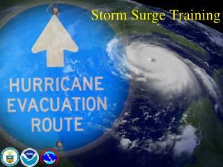 Storm Surge Training