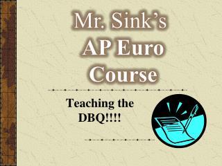 Teaching the DBQ!!!!