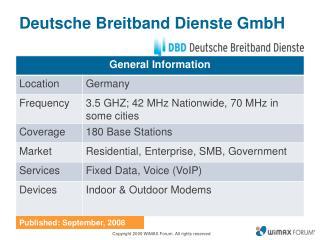 Deutsche Breitband Dienste GmbH