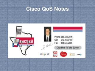 Cisco  QoS  Notes