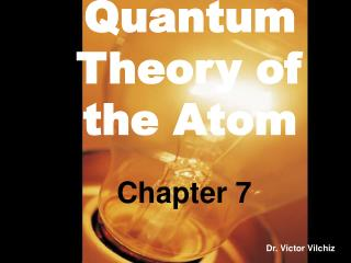 Quantum Theory of the Atom