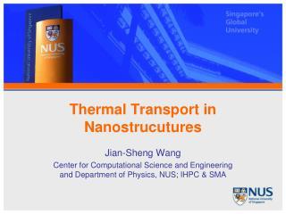 Thermal Transport in Nanostrucutures