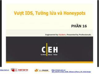 CEH V7 Module 16