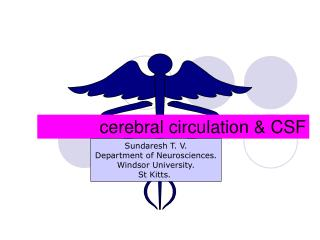 cerebral circulation & CSF