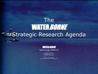 The WATER BORNE Strategic Research Agenda