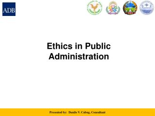 Ethics in Public Administration