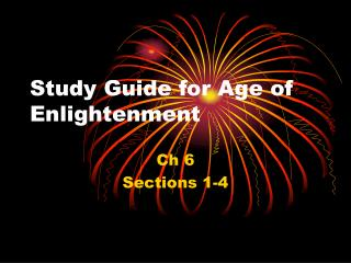Study Guide for Age of Enlightenment