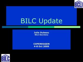 BILC Update