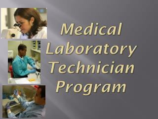 Medical Laboratory Technician Program