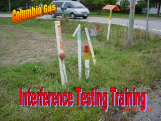 Interference Testing Training
