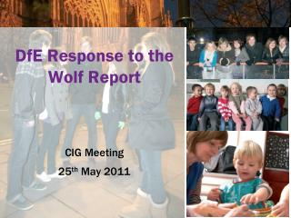 DfE Response to the Wolf Report