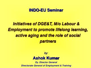 INDO-EU Seminar
