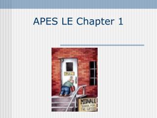 APES LE Chapter 1