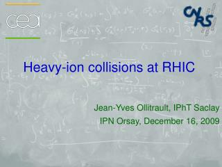 Heavy-ion collisions at RHIC