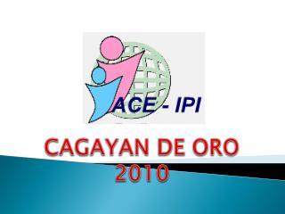 CAGAYAN DE ORO 2010