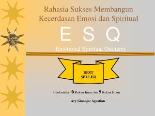 Rahasia Sukses Membangun Kecerdasan Emosi dan Spiritual
