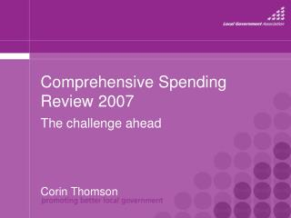 Comprehensive Spending Review 2007