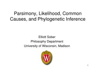 Parsimony, Likelihood, Common Causes, and Phylogenetic Inference