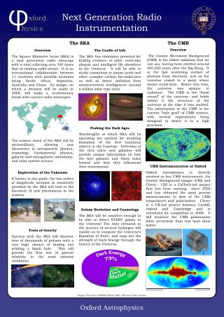 The CMB Overview