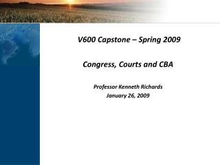 Lecture 4   CBA   Courts and Congress slides
