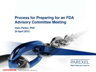 Process for Preparing for an FDA Advisory Committee Meeting