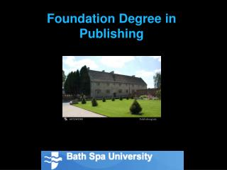 Foundation Degree in Publishing