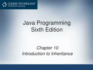 Java Programming Sixth Edition