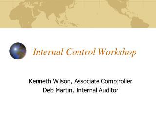 Internal Control Workshop