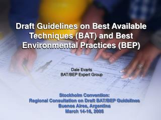 Draft Guidelines on Best Available Techniques (BAT) and Best Environmental Practices (BEP)