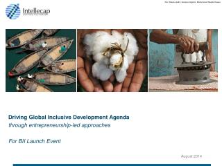 Driving Global Inclusive Development Agenda  through entrepreneurship-led approaches