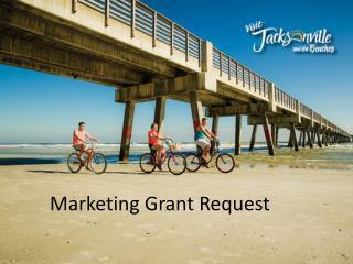 Marketing  Grant Request