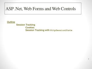 ASP .Net, Web Forms and Web Controls