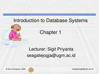 Introduction to Database Systems Chapter 1