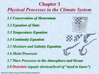 Chapter 3 Physical Processes in the Climate System