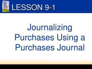 LESSON 9-1