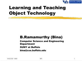 Learning and Teaching Object Technology