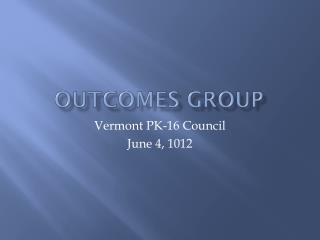 Outcomes Group
