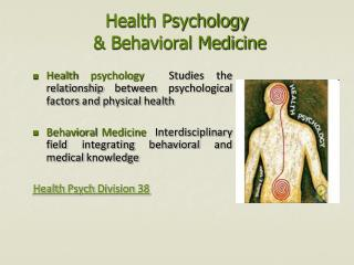 Health Psychology    & Behavioral Medicine