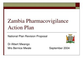Zambia Pharmacovigilance Action Plan