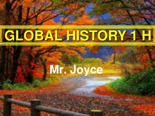 Mr. Joyce