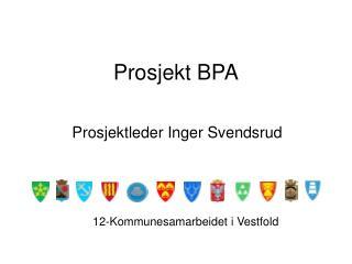 Prosjekt BPA