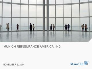 MUNICH REINSURANCE AMERICA, inc.