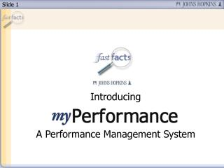Introducing A Performance Management System