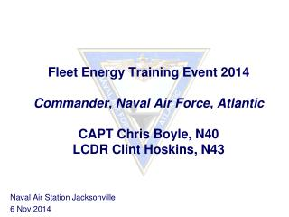 Naval Air Station Jacksonville 6 Nov 2014