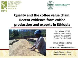 ETHIOPIAN DEVELOPMENT RESEARCH INSTITUTE