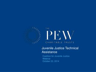 Juvenile Justice Technical Assistance