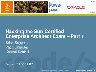 Hacking the Sun Certified Enterprise Architect Exam – Part 1