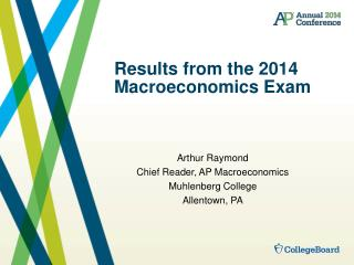 Results from the 2014 Macroeconomics Exam
