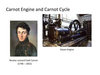 Carnot Engine and Carnot Cycle